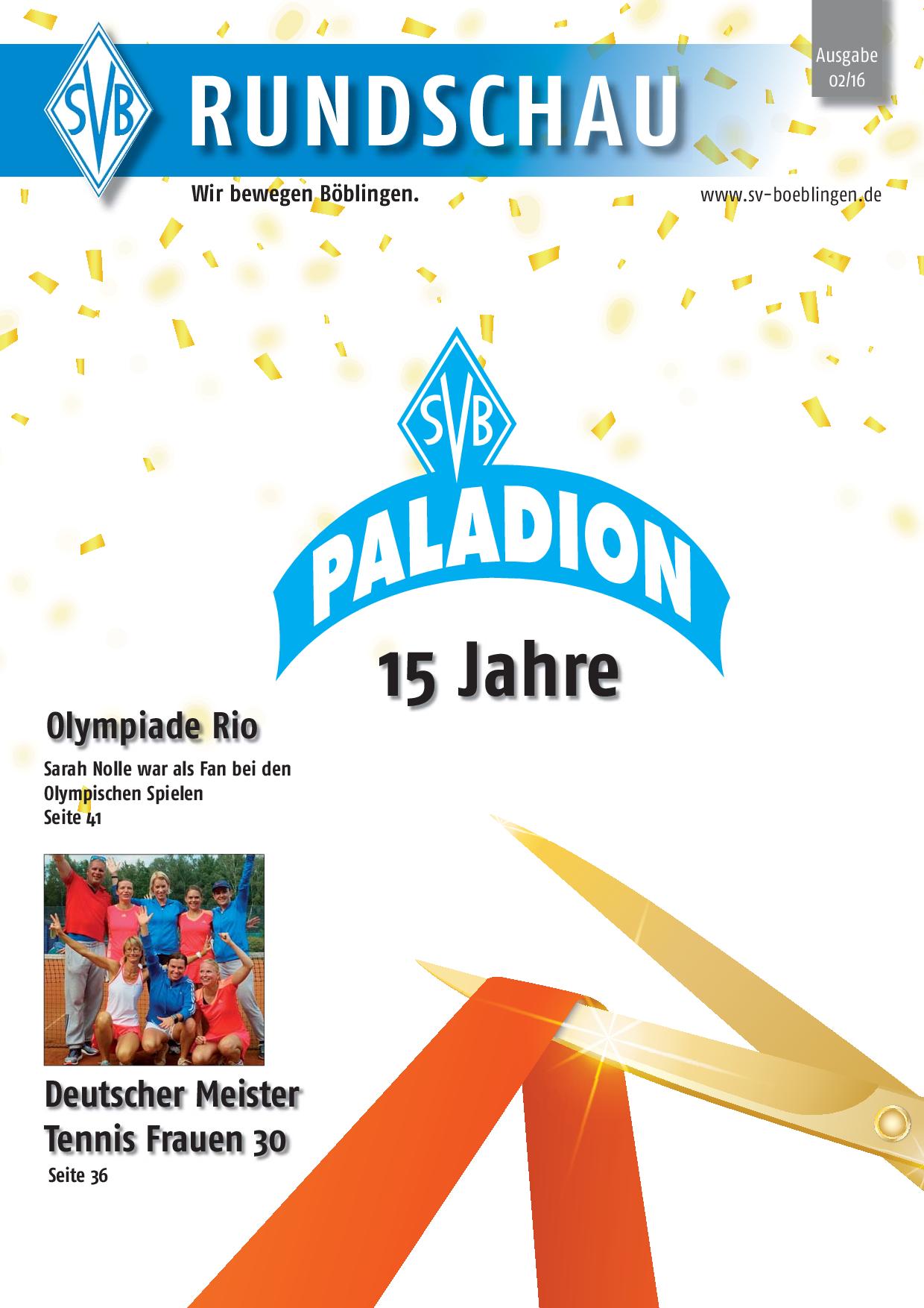 SVB Rundschau 2/2016